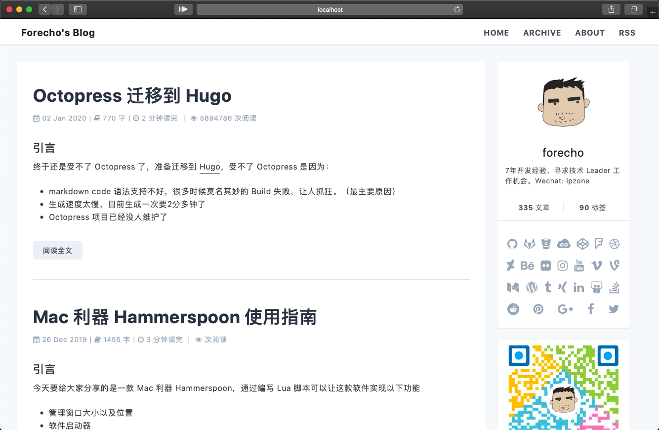 hugo-theme-echo-preview